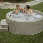Lifesmart Rock Solid Luna Spa with Plug and Play Operation