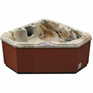 2-Person 28-Jet Triangle Hot Tub and Spa