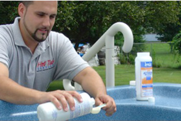 Cleaning System for Hot Tubs; Including Wholesale Hot Tub and Soft Sided Hot Tubs