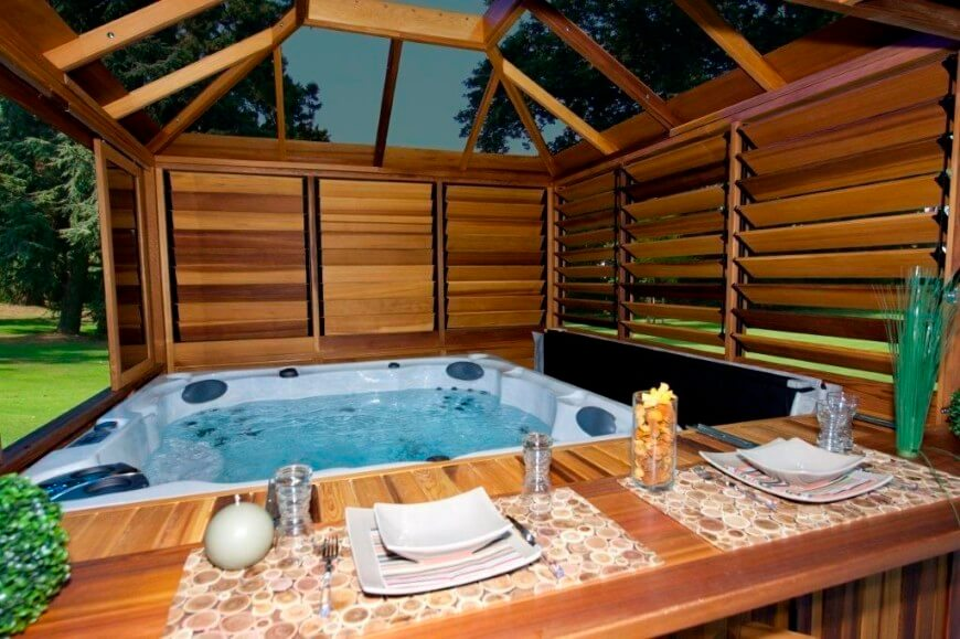 Hot Tub Enclosures