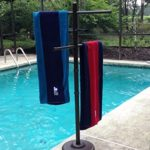 Outdoor Lamp Company Outdoor Spa and Pool Towel Rack – Bronze