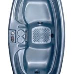 QCA Spas 2 Person Plug and Play Hot Tub and Jacuzzi Spa