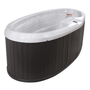 2-Person Oval Spa with 16 Stainless Steel Jets and 1 kW Heater