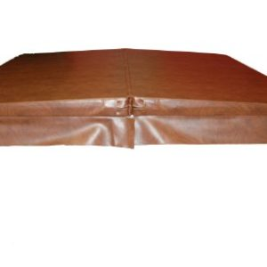 QCA Spas SI600HLHD Hard Hot Tub Cover for Capricorn/Corona/Taurus Hot Tubs, 82 by 82-Inch, Teak