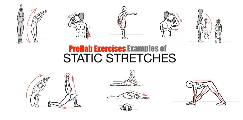 Static Muscle Stretching