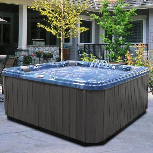 6 Person Portable Spa With 56 Stainless Steel Massage
