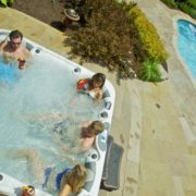Home and Garden Spas LPI106X12 5 Person 106 Jet Spa with MP3 Auxiliary Hookup