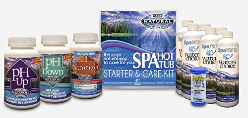 Waters Choice Spa Start Up and Water Maintenance Kit 6 Month Supply