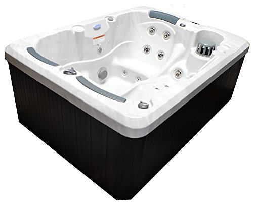 Superieur Home And Garden Spas LPI31TRI 3 Person 31 Jet Spa With Stainless Jets U0026  Waterfall, Sterling White