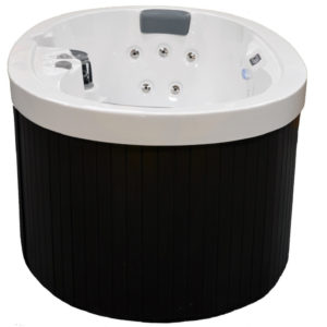 Plugin and Play 2 Person 13 Jet Oval Portable Hot Tubs and Jacuzzi Spa