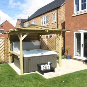 Hot Tub can increase your home value