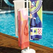 Hydro Tools 89032 Poolside Towel Rack