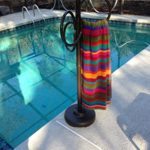 Outdoor Lamp company 402BRZ Loop Designer Towel Holder – Bronze