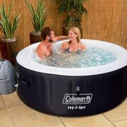 Coleman SaluSpa 4-Person Portable Inflatable Outdoor Spa Hot Tub