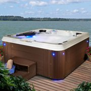 7 Person with 60 Jet Acrylic Hot Tub