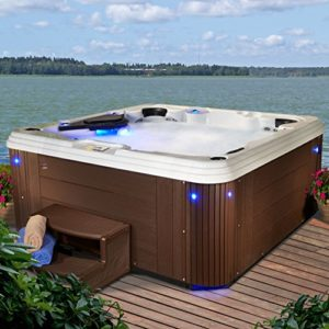 5-6 Person 67 Jet Lounger Acrylic Hot Tub