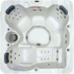 5 Person 51 Jet Spa with Stainless Jets and Ozone System Included