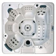 7-Person 104-Jet Hot Tub with MP3 Auxiliary Output