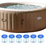 4-Person Inflatable Portable Hot Tub
