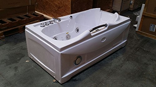 One 1 Person Whirlpool Massage Hydrotherapy White Bathtub
