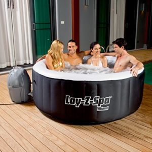 2-4 Person Capacity Inflatable Hot Tub with AirJets