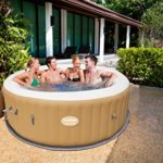 SaluSpa Palm Springs AirJet Inflatable 4-6 Person Hot Tub
