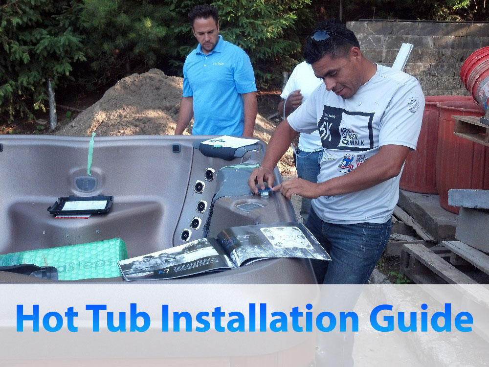 Hot Tub Installation Guide for Top Brand Hot Tubs in USA