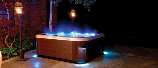 Hot Tub Light Features